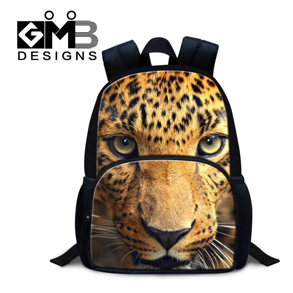Felt Material Animal Tiger Kid School Bags Small 12 Inch Backpack For Kindergarten Boys Baby Mochila Infantil Student Schoolbag