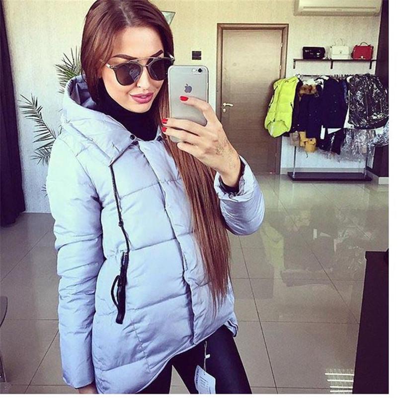 Пуховик капюшон, горячая женское зима пуховик пальто свободного покроя тёплый молния верхняя одежда зима женщины