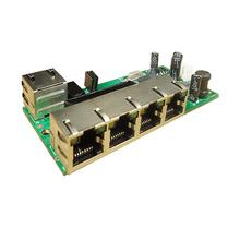 5 port ethernet switch mini module 5 led rj45 network switch board
