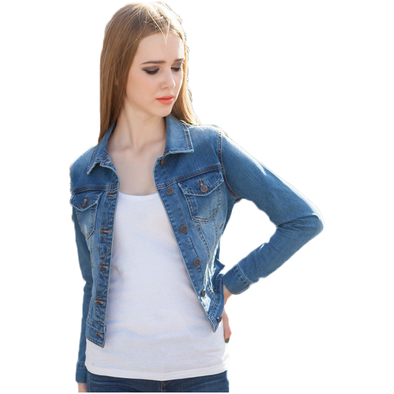 Our Stretch Denim Jacket offers your favorite swing style in comfortable stretch denim! Perfect for fuller hips! Women Supporting Women: Designed exclusively for us by Stormie Dreams - a woman-owned business seeking to be something greater than