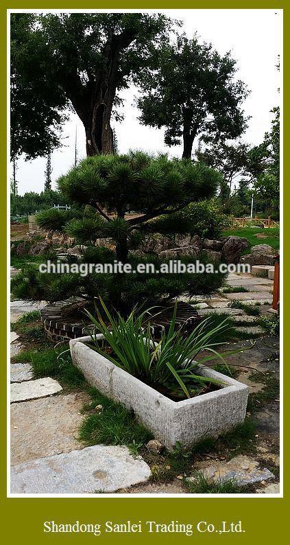 ext rieur en pierre jardin pot de fleurs pour la d coration. Black Bedroom Furniture Sets. Home Design Ideas