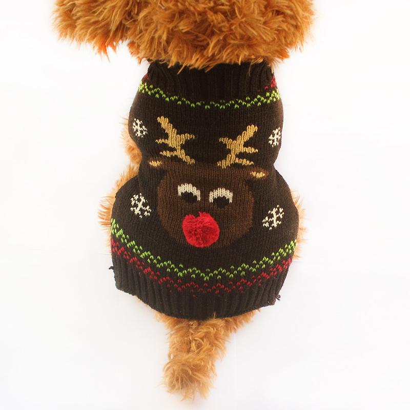 Promoción de Suéter Del Perro De Punto - Compra Suéter Del