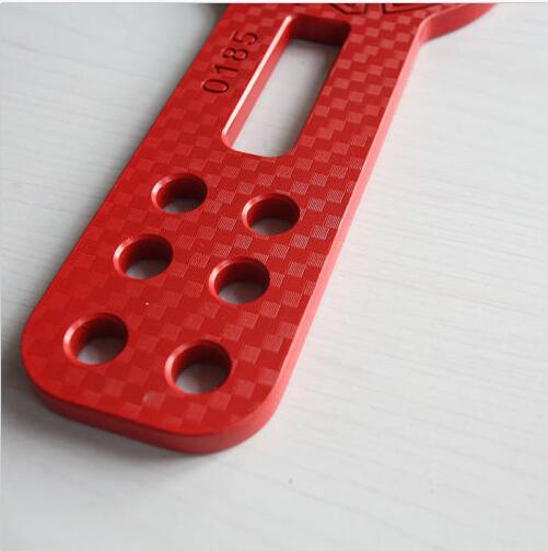 Специальное предложение автомобили буксировка крючки алюминиевых заготовок гонки передняя фаркоп комплект с чпу JDM анодированный красный