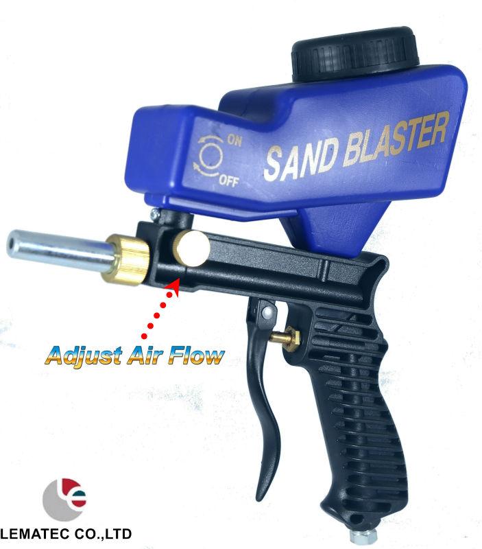 Lematec самотеком пескоструйные пистолет пескоструйная пистолет для ржавчины удалить джет воздуха инструменты сделано в тайване высокое качество воздуха инструменты