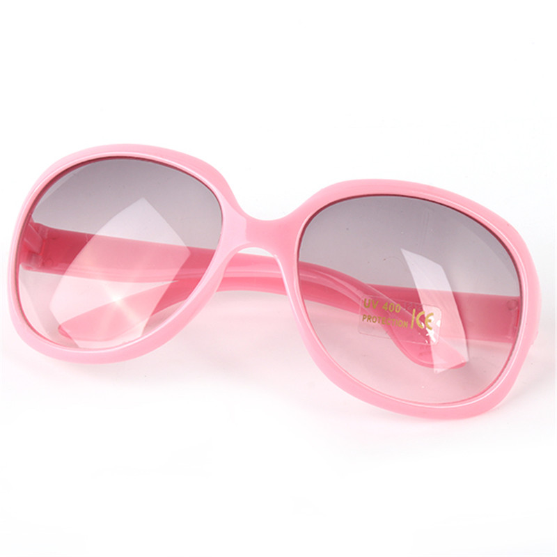 2016 Kids Boy Girls Baby Eyeglasses Toddlers Sunglasses Round Frame Goggles Anti UV400