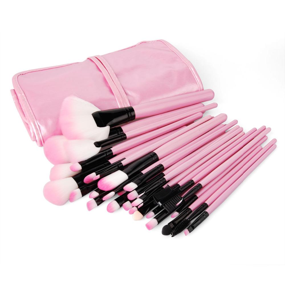 pink makeup brushes set. Black Bedroom Furniture Sets. Home Design Ideas