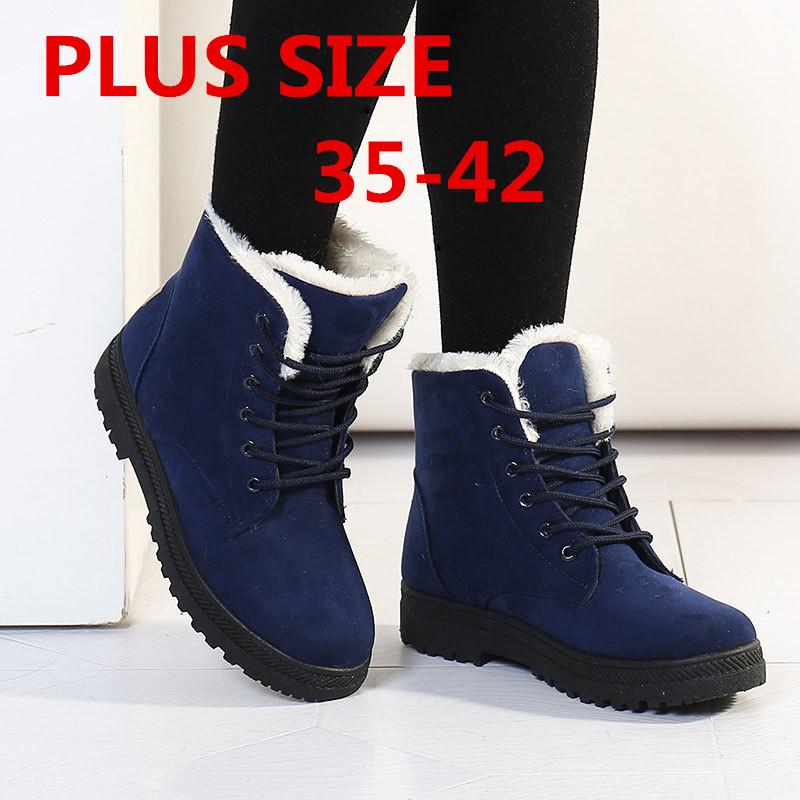58117a3caba7 Снегоступы зима ботильоны женские сапоги обувь плюс бархат наличники обувь  бота feminina 2015 на платформе модные