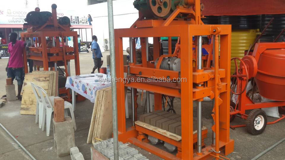 Cheap Price Brick Making Machine Price In Kenya Qtj4 40