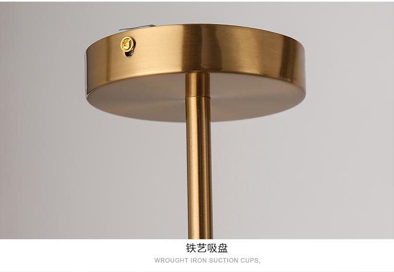 creative or salle manger lustre moderne en verre lampe suspendue luminaire suspension. Black Bedroom Furniture Sets. Home Design Ideas