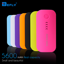 Feather Shape 5600mAh Power Bank Portable Charger For Mobile Phone Battery Charger External Battery For all Mobile Phone