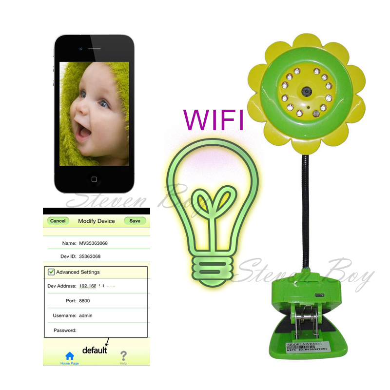Бесплатная доставка радионяня Wifi IP камера DVR ночного видения микрофон для системы IOS и Andriod смартфон wi-fi цифровой монитор младенца