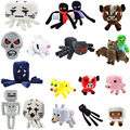 Minecraft Plush toys best price game enderman bat wolf mushroom steve juguetes brinquedos christmas gift for