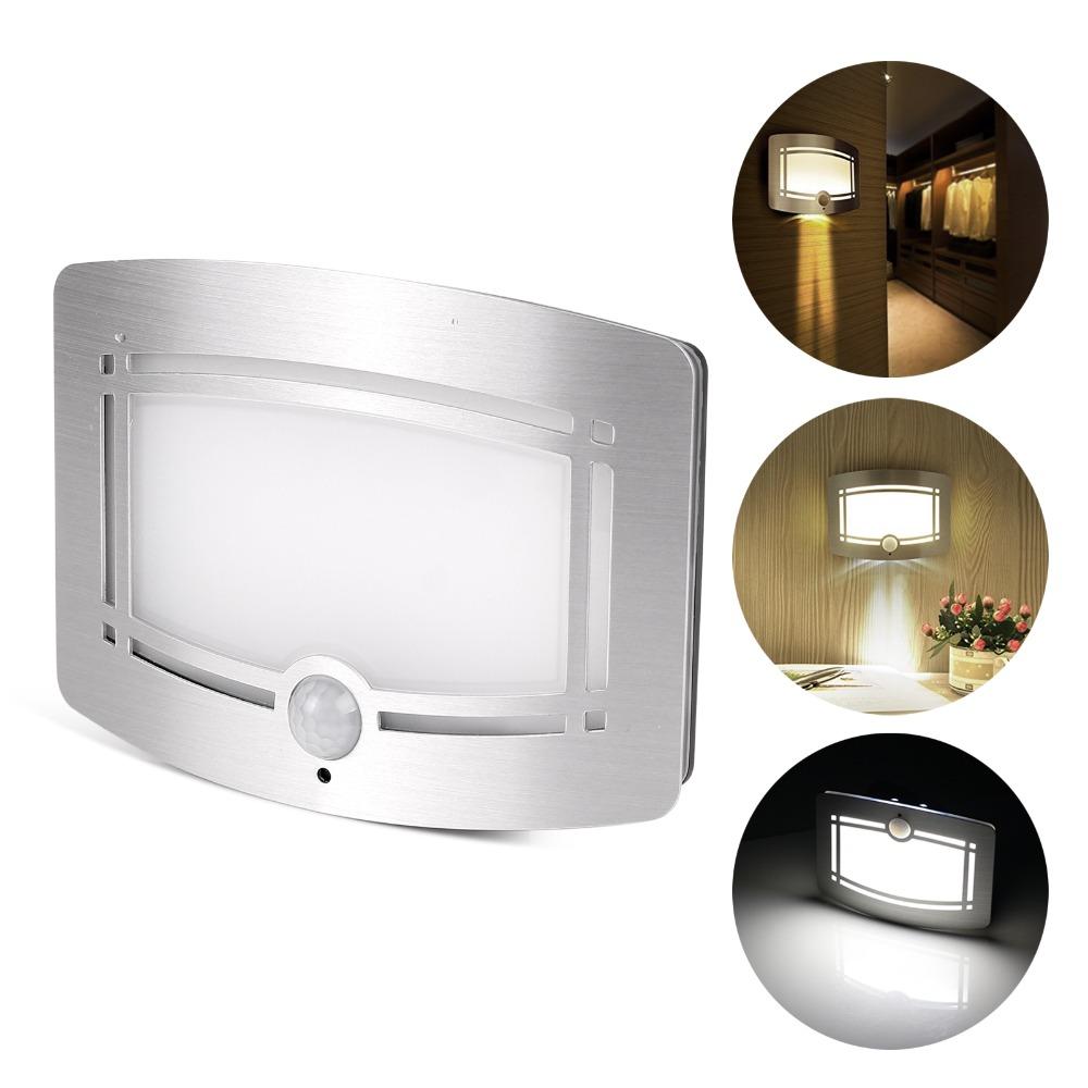 Aliexpress Led Wall Light: LED Luxury Aluminum Stick Anywhere Bright Motion Sensor