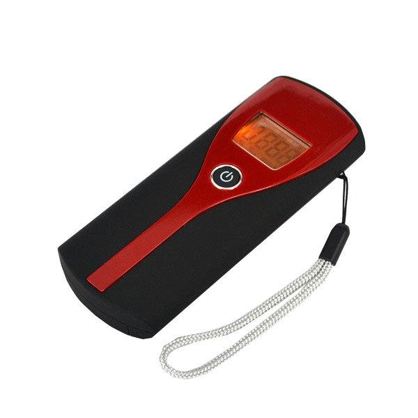 Цифровой портативный тестер спирта дыхания алкотестер анализатор обнаружение жк-дисплей подсветка Alcoholicity метр