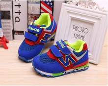 New fashion 2015 children shoes for boys and girls running shoes female child autumn sports breathable