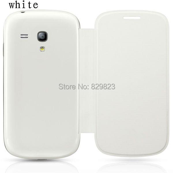 מקורי Flip עור הכיסוי האחורי המקרים סוללה מקורית דיור case for Samsung Galaxy S3 SIII Mini i8190 8190 משלוח חינם
