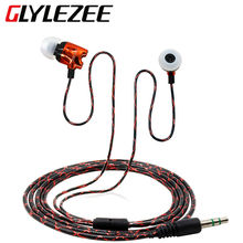 GLYLEZEE Luminous Series In-Ear Stereo MP3 Music Headset Earphone with Electroplating Rocket Head