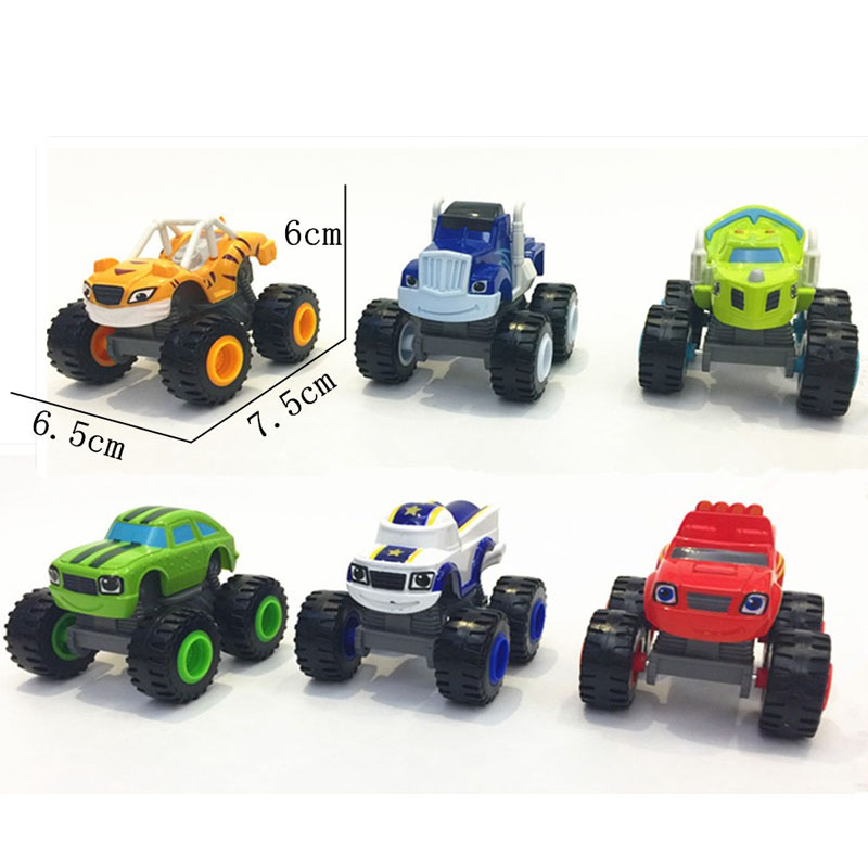 2016 NEW Blaze Monster Machines Toys Vehicle Car Pickle Zeg Darrington Crusher Stripes Original Box Best