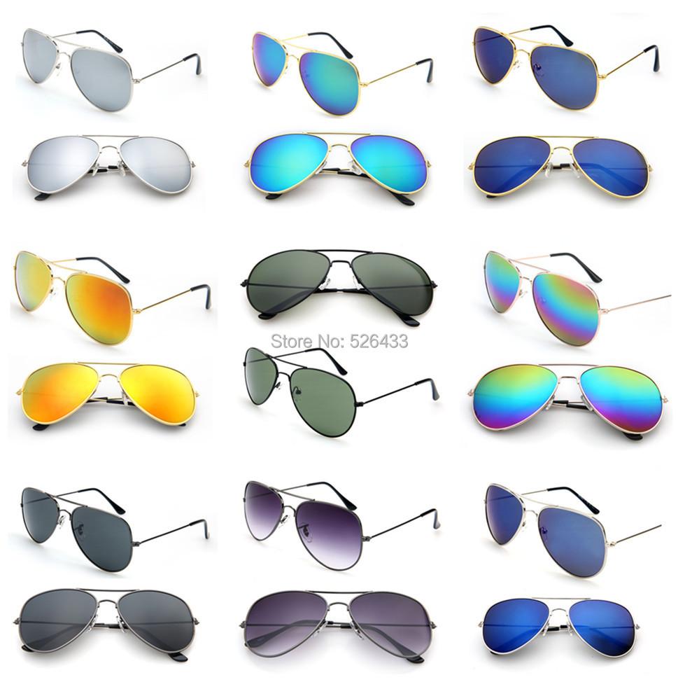 2015 Hot Sales Fashion Star Sunglasses Oculos De Sol Women Men Polarized Aviator Mirrored Lens UV