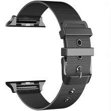 Ремешок для Apple Watch 5 4 3 2 полоса 42 мм 38 мм Миланская для iWatch series 5 4 3 2 1 для iwatch 4 3 ремешок 40 мм 44 мм нержавеющая сталь(Китай)
