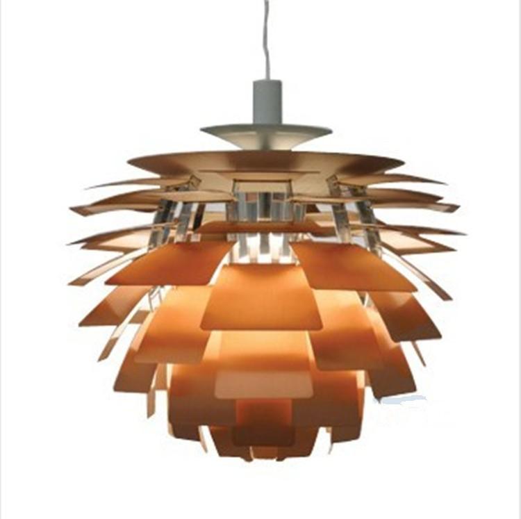 38 cm blanc argent gros louis poulsen ph artichaut lampe designe danemark suspension moderne. Black Bedroom Furniture Sets. Home Design Ideas