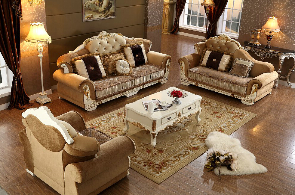 Sectional Sofa Beanbag Chair New Arriveliving Antique European Style Set Fabric Hot Sale Low