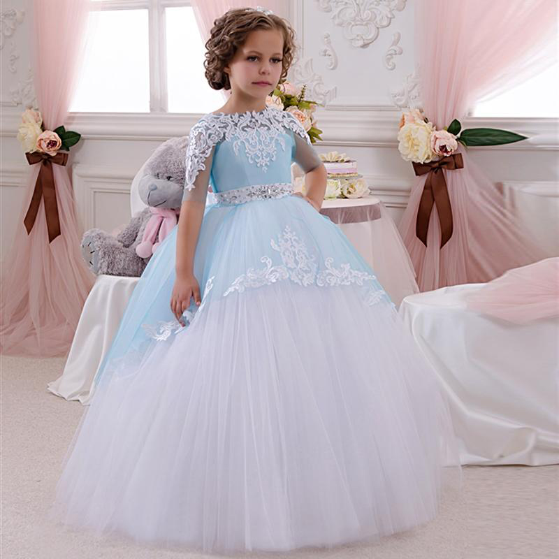 Little Girls Wedding Gowns: Cute Lovely Little Flower Girl Dresses For Wedding Half
