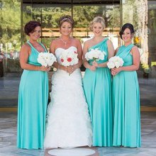 Dusty Blue country Bridesmaid Dresses cheap Top Sequin Prom Dresses With  Short Sleeve V Neck Bling eeb7140ef556