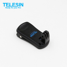 TELESIN Backpack Clip Mount 360 Degree Rotary Fast Clamp For Outdoor Xiaomi Yi Xiaoyi Action Sports Camera Accessories F14729