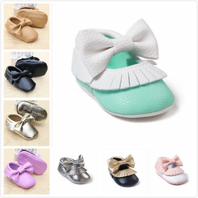 2016 New arrive Lovely Baby Shoes Toddler Soft Sole Skid-proof First Walkers Kids infant Shoes