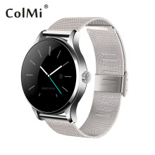 ColMi K88H Bluetooth Smart Watch Classic Health Metal Smartwatch Heart Rate Monitor For Android ISO Phone Remote Camera Clock