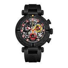 Мужские наручные часы Reef Tiger/RT, спортивные водонепроницаемые часы с хронографом, розовое золото(Китай)