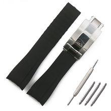 Резиновый ремешок, мужские камуфляжные часы, аксессуары для часов, часы для часов, часы GMT, водонепроницаемые, силиконовый ремешок, женские, ...(China)