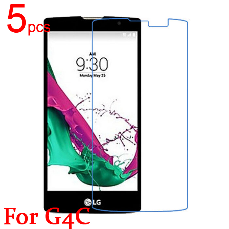 5pcs Gloss Ultra Clear LCD Screen Protector Film Cover For LG G4c G4 Mini H525N Protective