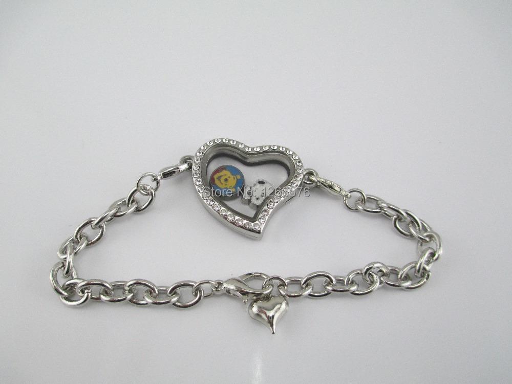 Origami Owl Chain Bracelet