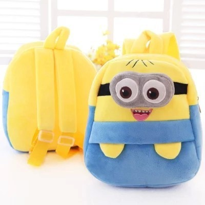 High-Quality-Despicable-Me-Minions-Backpack-Children-School-Bags-For-Girls-Mochila-Infantil-Kids-Child-Backpacks