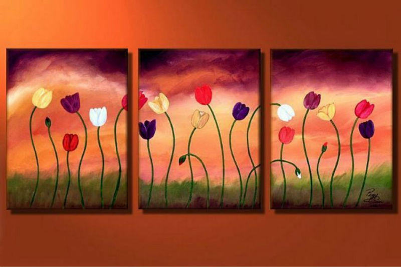 acrylic art 8 & 2 Pieces Assorted Famous Abstract Acrylic Painting Artists - Buy ...
