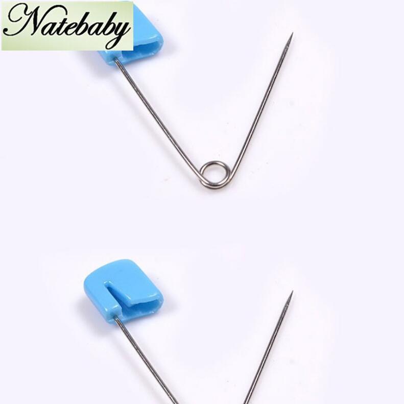 ( 20 шт./компл. ) оптовая продажа небольшой размер младенческой булавки анти - отскок детские скрепка труба случайный цвет pin