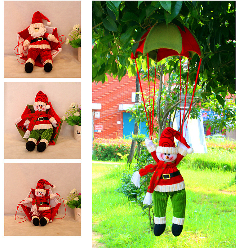 Christmas Decorations To Make At Home For Free: Free Shipping Christmas Decoration Santa Claus Snowman