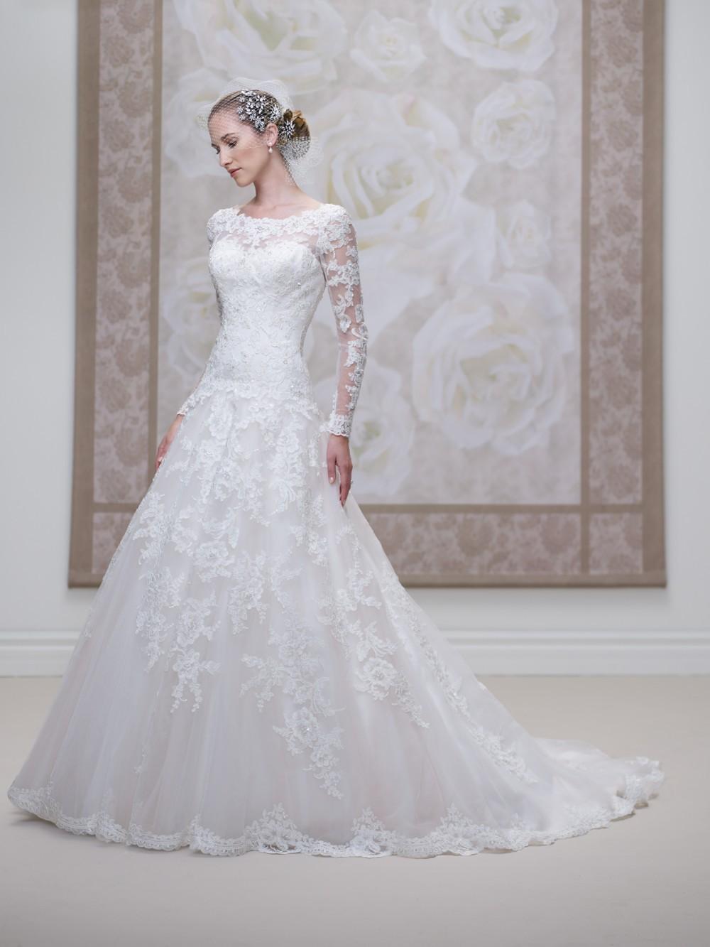 High Quality Long Sleeves Lace Open Back Vestidos De Noiva ...