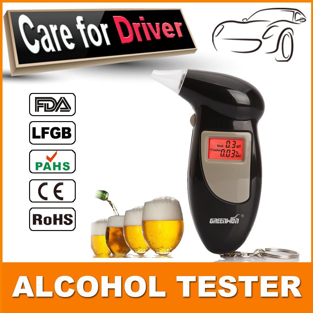 Лучшие продажи брелок тестер спирта, бизнес подарок цифровой жк-дисплей тестер спирта алкотестер, завод привод безопасности