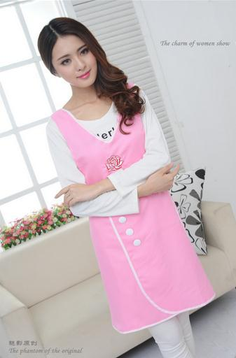 Fashion Beauty Salon Beautician Overalls Loose Clothing