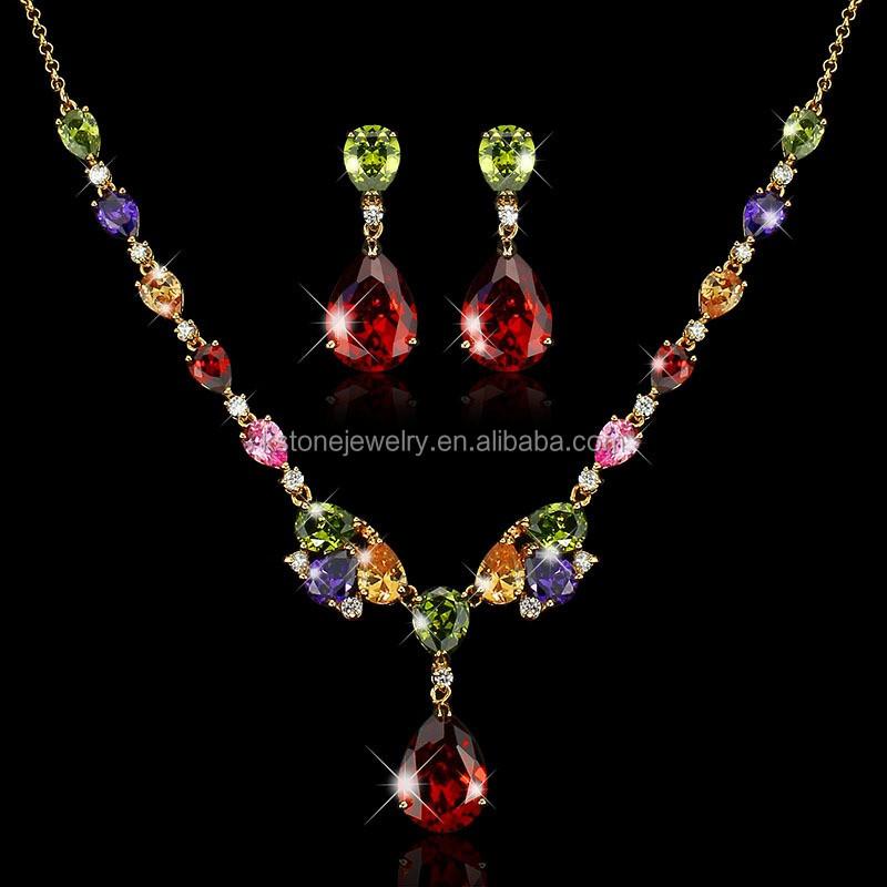 Kstone Jewelry Hot Sale Women Luxury Aaa Zirconia Water Drop