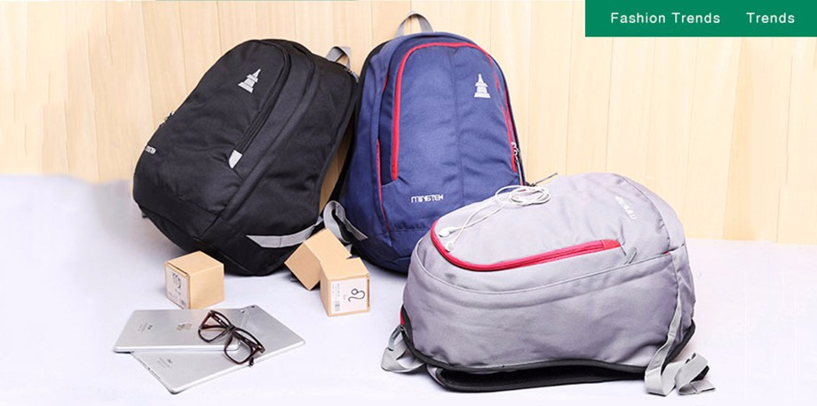 ed27a11b14ed Wholesale- Waterproof Nylon Backpack Unisex Lightweight Travel Laptop  Backpack Men Women Nylon School Bags For Teenagers Large Capacity
