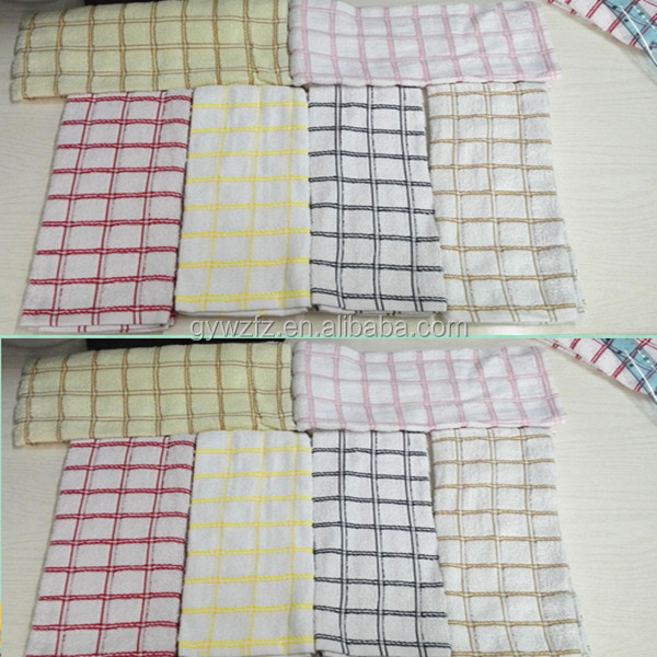 Wholesale 100% Cotton Plain White Cotton Tea Towels