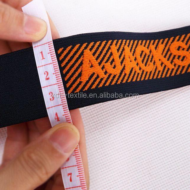 Fabrik liefern direkt 3,5 cm benutzerdefinierte jacquard gummibandGroßhandel, Hersteller, Herstellungs