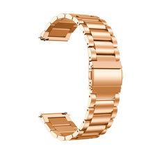 20 мм ремешок для часов из нержавеющей стали для Garmin Vivoactive 3 ремешок для часов спортивный умный сменный Браслет Роскошный металлический реме...(Китай)