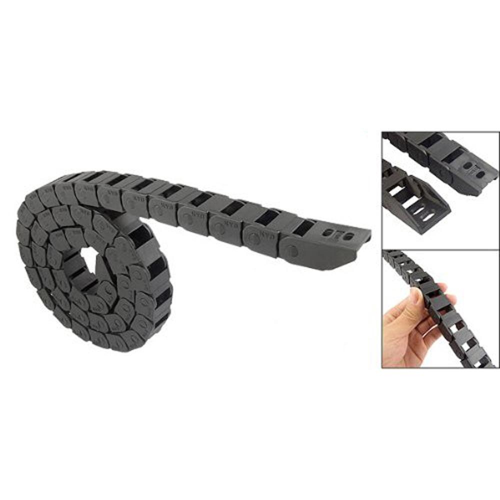 Wsfs горячая распродажа 1 м длинные Blk пластиковые буксировочный канат кабель 10 x 15 мм