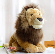 FAO African Lion Doll Simulation Animal Plush Toys For Boys Gifts