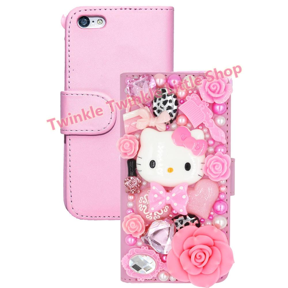 Hello Kitty Iphone  Plus Wallet Case